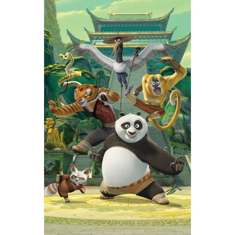 Foto Tapetas - Plakatas Kung Fu Panda