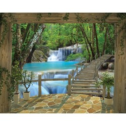 Foto Tapetai Waterfall