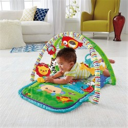 Fisher Price 3 in 1 Rainforest Lavinimo Kilimėlis