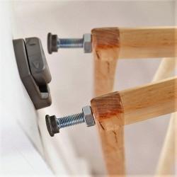 Lindam Extending Wooden Apsauginiai Varteliai
