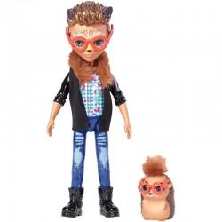 Lėlė Enchantimals Ežiukas Hixby su gyvūnėliu