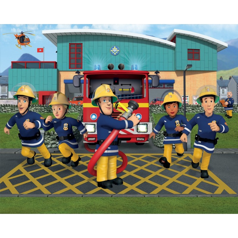 Foto Tapetai Vaikams Fireman Sam - foto-tapetai-vaikams-fireman-sam
