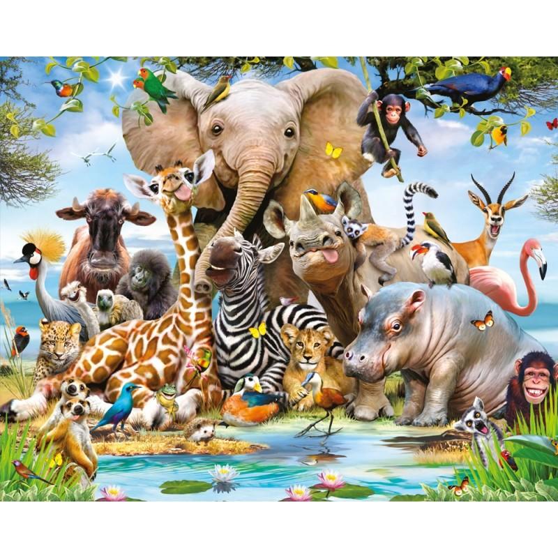 Foto Tapetai Vaikams Jungle Safari