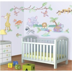 Wall Stickers Baby Jungle...