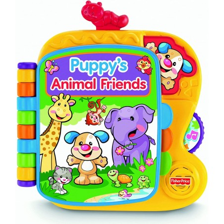 Fisher-Price Laugh & Learn Puppy's Animal Friends Knygutė - fisher-price-laugh-learn-puppy-s-animal-friends-knygute