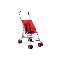 BabyStart Basic Pushchair - Red Vežimėlis