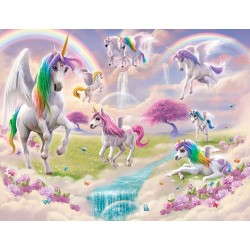 Magical Unicorn Wall Mural