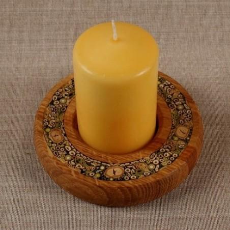 Žvakidė - apvali didelė