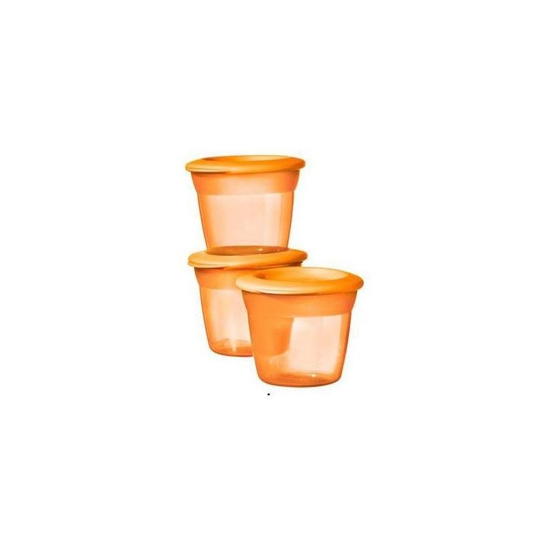 Tommee Tippee Essentials Basic Maisto Dubenėlis 3 vnt. - tommee-tippee-essentials-basic-maisto-dubenelis-3-vnt