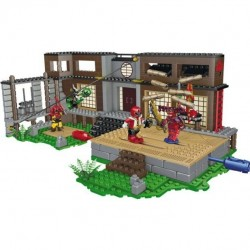 Mega Bloks 5833 Power Rangers Samurai HQ Battle Exclusive