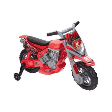 Battery Powered 2 Wheeled Motorcycle - Red elekromobilis