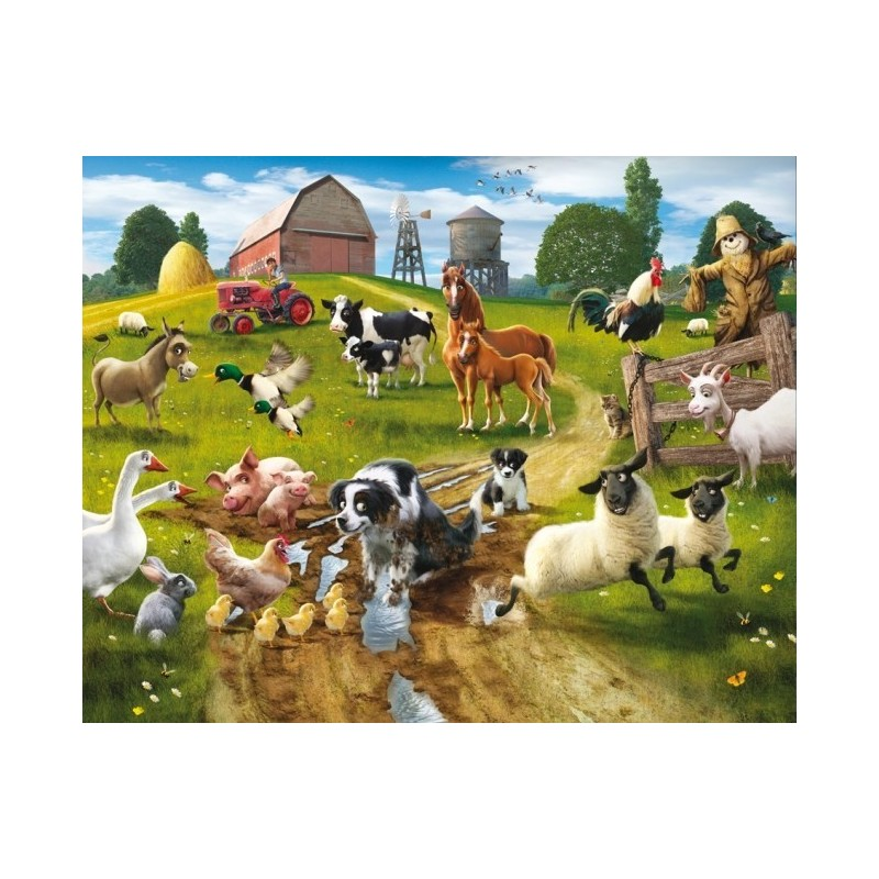 Foto Tapetai Farmyard Fun