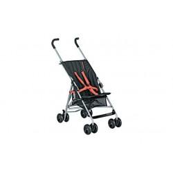 Mamu Hop vežimėlis - Juoda ir oranžinė
